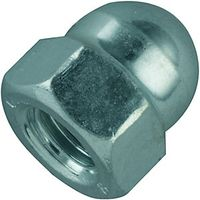 Wickes Steel Dome Nuts M6 Pack 10