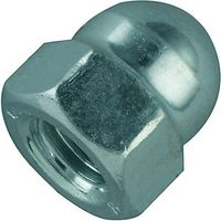 Wickes Steel Dome Nuts M8 Pack 8