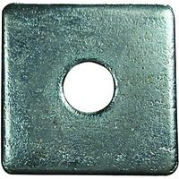 Wickes Flat Square Washers M10 Pack 4