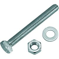 Wickes Hexagon Set Screws M6x50mm Pack 10