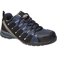 Dickies Tiber Safety Trainers Black Size 11