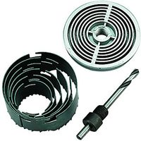 Wickes Assorted Hole Saw Set Pack 6