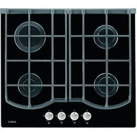 AEG HG694340NB 4 Burner Gas On Glass Hob Black 600mm