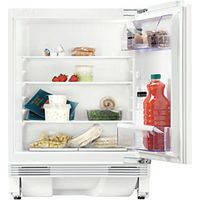 Zanussi ZQA14030DA Integrated Under Counter Larder Fridge White 600mm