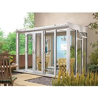 Wickes Traditional Conservatory T10 Full Height White 4630 x 2310mm