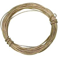 Wickes Picture Wire Brass Plated 6m