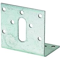 Wickes Galvansied Angle Bracket 60x38x60mm