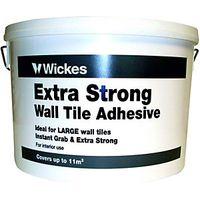 Wickes Extra Strong Wall Tile Adhesive 10L