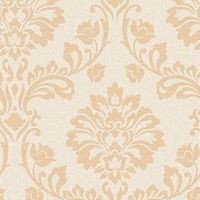 Superfresco Colour Aurora Decorative Wallpaper Cream/Sand
