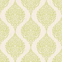 Superfresco Colour Luna Decorative Wallpaper Green