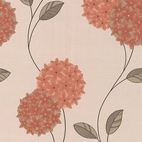 Superfresco Colour Pippa Decorative Wallpaper Orange