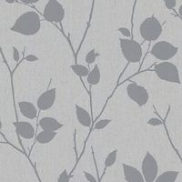 Superfresco Easy Virtue Decorative Wallpaper Grey