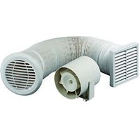 Wickes Extractor Fan Kit 100mm