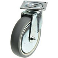 Wickes 100mm Heavy Duty Castor Wheel Swivel Plate Pack 2