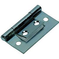 Wickes Flush Hinge Zinc Plated 38mm 2 Pack