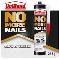 UniBond No More Nails Invisible Cartridge 300ml