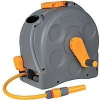 Hozelock 2415 2 in 1 Compact Enclosed Reel with 25m Hose