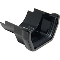 Wickes Black Squareline Cast Iron Gutter Adaptor