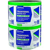 Wickes Traditional Green Cap Sheet Strip 250mmx10m