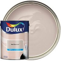Dulux Matt Emulsion Paint Malt Chocolate 5L