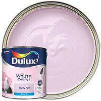 Dulux Matt Emulsion Paint Pretty Pink 2.5L