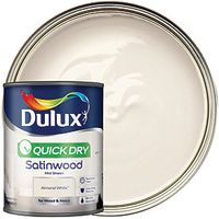 Dulux Quick Dry Satinwood Almond White 750ml