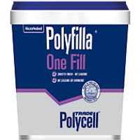 Polycell Polyfilla One Fill Lightweight Filler 1L