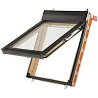 Keylite Means of Escape Roof Window Top Hung Pine Clear 940mm X 1600mm