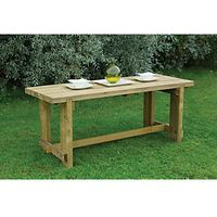 Forest Garden Refectory Table 1.8m
