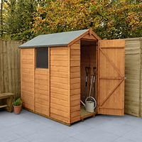 Wickes Shiplap Dip Treated Apex Shed 4x6