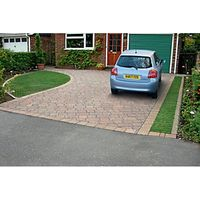Marshalls Drivesett Tegula Priora Traditional 120 x 160 x 60mm Block Paving - Pack of 232