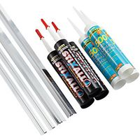 Wickes Acrylic 3 sided Accessory Pack