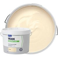 Wickes Contract Silk Emulsion Paint Emulsion Paint Almond 10L