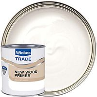 Wickes Trade Aluminium Wood Primer 1L