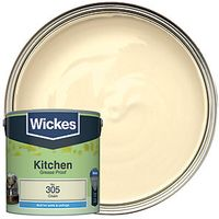 Wickes Kitchen Matt Cream 2.5L