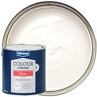 Wickes High Gloss Paint Brilliant White 2.5L