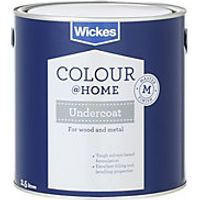 Wickes Solvent Based Undercoat Grey 2.5L