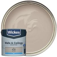 Wickes Colour @ Home Vinyl Matt Emulsion Paint Earl Grey 2.5L