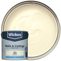 Wickes Colour @ Home Vinyl Matt Emulsion Paint Elderflower 2.5L