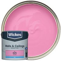 Wickes Colour @ Home Vinyl Matt Emulsion Paint Cupcake 2.5L