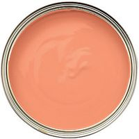 Wickes Colour @ Home Vinyl Silk Emulsion Paint Sweet Clementine 2.5L