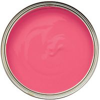 Wickes Colour @ Home Vinyl Silk Emulsion Paint Pink Prowess 2.5L