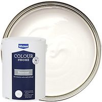 Wickes Colour @ Home Basecoat Emulsion White 5L