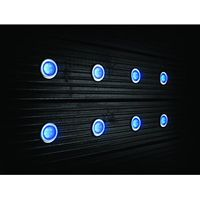 Wickes LED Deck Lights 45mm Blue
