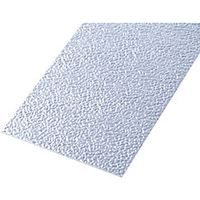 Wickes Metal Sheet Uncoated Aluminium Roughcast Effect 120 x 1000mm