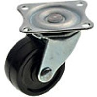 Wickes 40mm Castor Wheel With Plate Pack 4