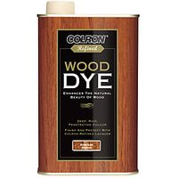 Ronseal Colron Refined Wood Dye American Walnut 250ml