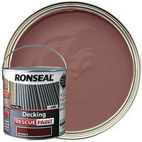 Ronseal Decking Rescue Paint 2.5L Bramble
