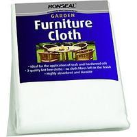 Ronseal Lint Free Furniture Care Cloths 3 Pack