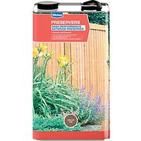 Wickes High Performance Wood Preserver 5L English Oak
